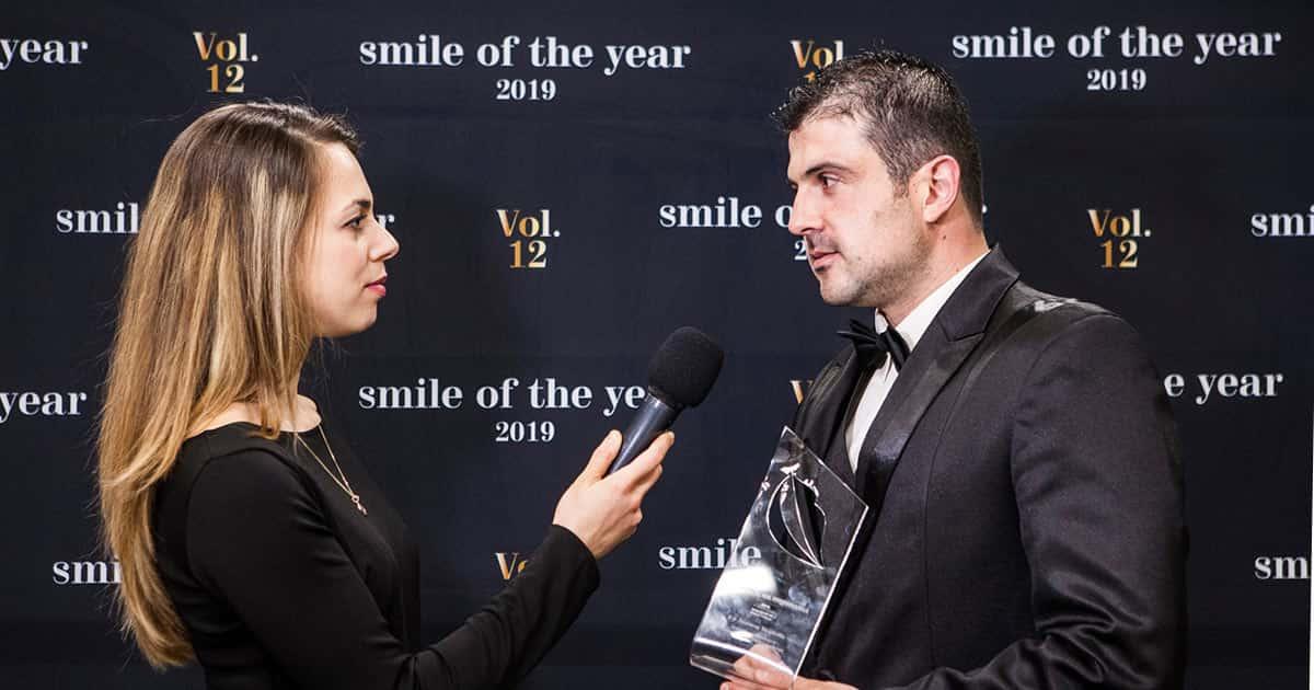 """Д-р Марков с наградата """"Усмивка на годината 2019"""", DSDent дентална клиника"""